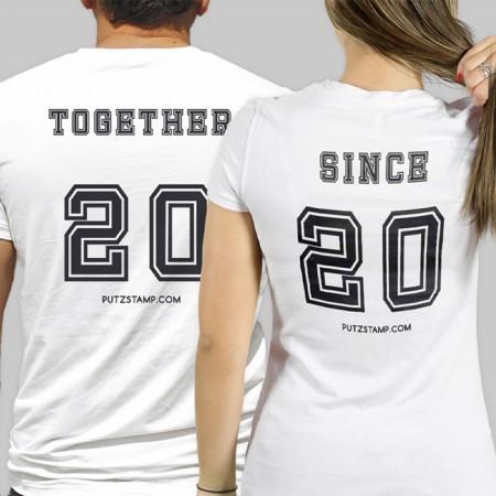 T-SHIRT Together (para ela e para ele)