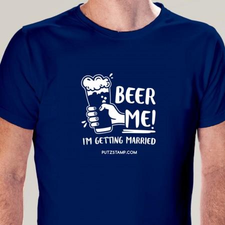 T-SHIRT homem BEER ME!