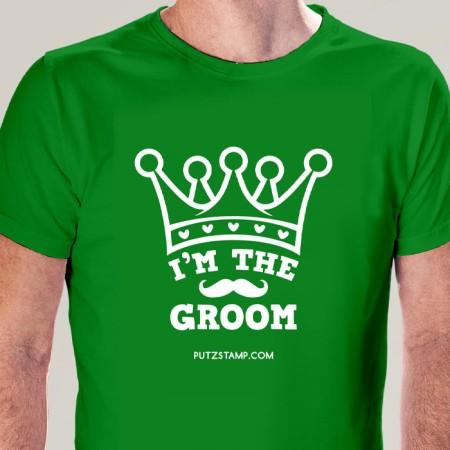 T-SHIRT homem I'm the Groom