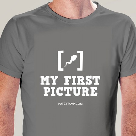 T-SHIRT homem My First Picture