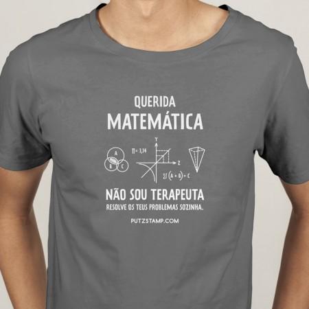 T-SHIRT homem Querida Matemática