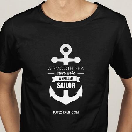 T-SHIRT homem Skilled Sailor