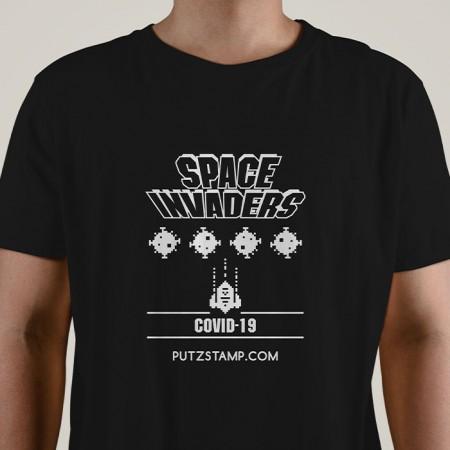 T-SHIRT homem Space Invaders