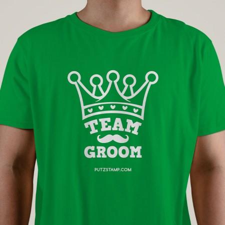 T-SHIRT homem Team Groom