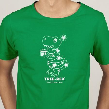 T-SHIRT homem TREE-REX