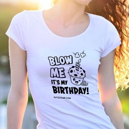 T-SHIRT senhora BLOW ME