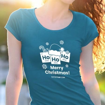 T-SHIRT senhora Ho Ho Ho