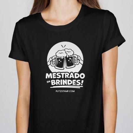 T-SHIRT senhora Mestrado em Brindes!