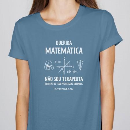 T-SHIRT senhora Querida Matemática