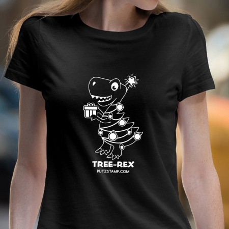 T-SHIRT senhora TREE-REX