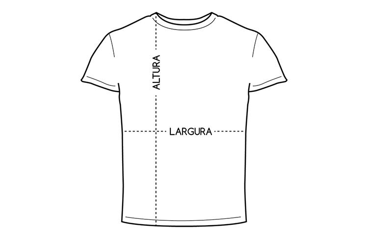 t-shirt homem tamanhos